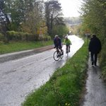 @_JustinGage_ On his 50 something ride up Winsley Hill. Raising money for Nepal #everestingwinsley http://t.co/DKcQt2FGma