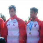 TERCER K-4 1000m CTO #EUROPA #Piragüismo @Javierhernanz @oscarkayak @ipea85 @RGermade ENHORABUENA!! #RGCC #SomosGrupo http://t.co/9njpUtQGE0