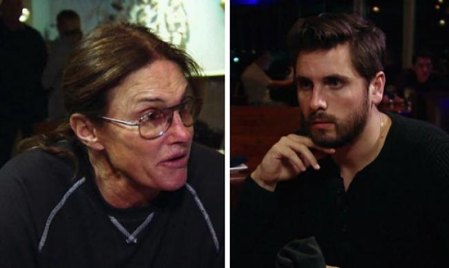 Bruce Jenner gives Scott Disick great dad advice in this KUWTK sneak peek - watch!
