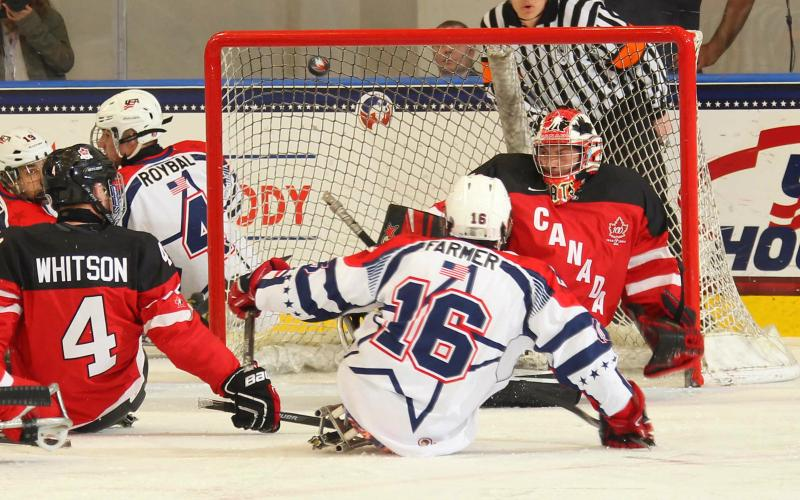 TEAM USA WINS GOLD!  U.S. shuts out Canada 3-0 for the @IPCISH sled hockey world championship! #Buffalo2015 http://t.co/OfQTmKq2sr