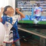 Feliz!. Esta foto d mi hijo Máximo refleja el amor y pasión q sentimos x nuestro amado @ClubAntofagasta. #Antofagasta http://t.co/LHSMFqIHBR