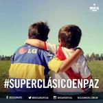 #Boca-River ¡Basta de violencia! Sumá tu granito de arena para que tengamos un #Superclásico en paz. http://t.co/UaJIULmsfX