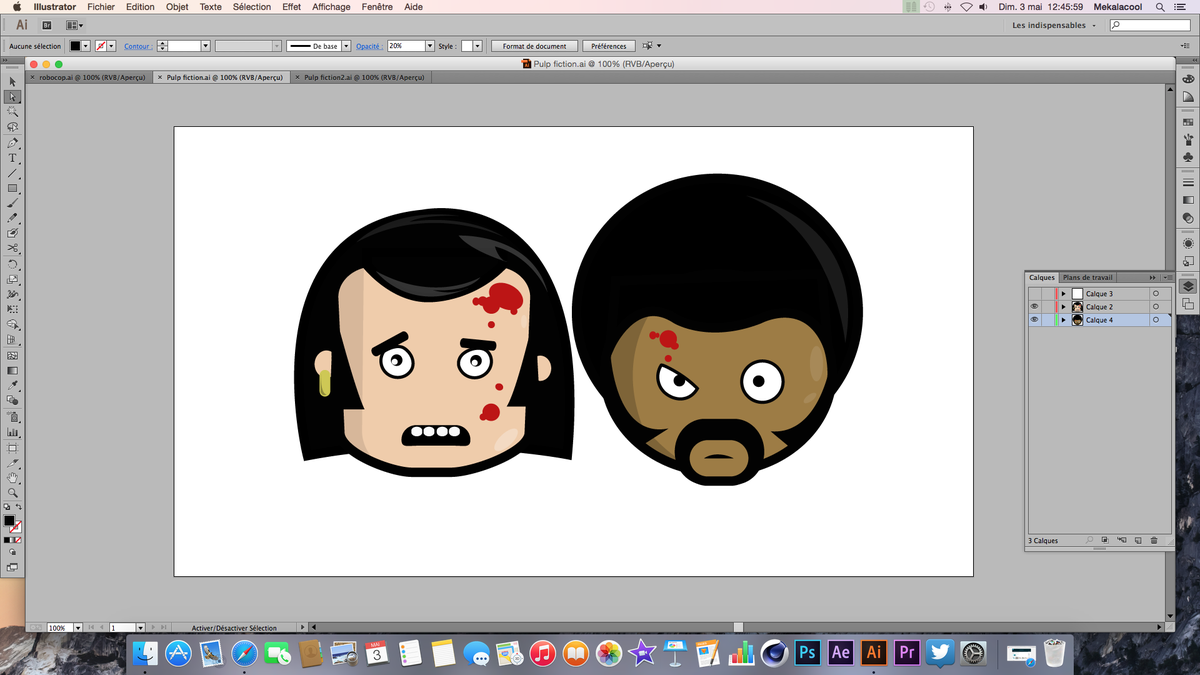 """@Mekalacool: Pulp fiction #illustrator #Youtube http://t.co/6nJQdJWn5N"""