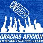El #RealOviedo es campeón del Grupo I de Segunda División B #locosporverteganar ¡GRACIAS AFICIÓN! http://t.co/V5L9ETjm13