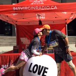 Awwwww.... The couple that runs together stays together! #RunVan #BMOVanMarathon @BMOVanMarathon http://t.co/j5xZHaRJji