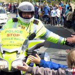 Forget the Tour de Yorkshire riders - the police stole the show! http://t.co/ULfmmoSZDW http://t.co/Aq72r2Wz7K