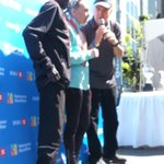 The winners @BMOVanMarathon Luka and Ludmilla #RunVan http://t.co/F6DS82AkWE