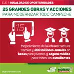 📢 Mejoramiento de la infraestructura escolar y 200 millones anuales en becas y seguro médico para estudiantes http://t.co/zjeBXVnnTC