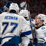 BOLTS WIN, 6-2! ⚡️ Tampa Bay takes a 2-0 series lead over the #Habs in the Second Round of the #StanleyCup Playoffs! http://t.co/BeHjud4OFK
