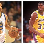 Steph Curry & Magic Johnson are the only 2 PG to lead a 65-win team in scoring. Magic went on to win NBA Finals. http://t.co/4s9zogmtMs