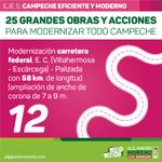 📢Modernización carretera federal Villahermosa-Escárcega-Palizada con 58 km. de longitud #ConTodoParaTodos http://t.co/KKqt5NRCCg