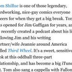 Congrats to @tomshillue on the @villagevoice shout out for his THIRD WHEEL PODCAST  https://t.co/u3JHSG9lHS http://t.co/kAwojqyv99