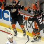 What the @AnaheimDucks 3-0 win over Calgary Flames looked like in photos. #NHLPlayoffs http://t.co/4u0wchVvKw http://t.co/wGCt8uYj68