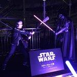 RT @DJ_TARO: スタウォーズ展のクライマックスの屋上でダースベーダーと戦えるシーン…1番カッコ良かった…ガンマイクでベイダー卿と戦った音声スタッフのアラキン・スカイウォーカーこと荒木さんでした!http://t.co/DfO7gfYq8E #jwave #radiko