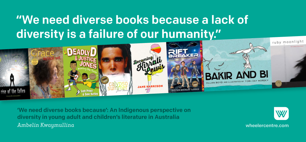 Ambelin Kwaymullina, on diversity in YA and children's literature in Australia: http://t.co/F0spdXSVtr #MorningNote http://t.co/z11p8Esl7U