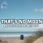 Lunacy? #MayThe4thBeWithYou #DoctorWho http://t.co/IqiGHbCN7o