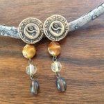 Brown earrings FREE SHIPPING  cheap boho jewelry by JabberDuck http://t.co/O3vlNzazQb http://t.co/YBdBAwYKm0