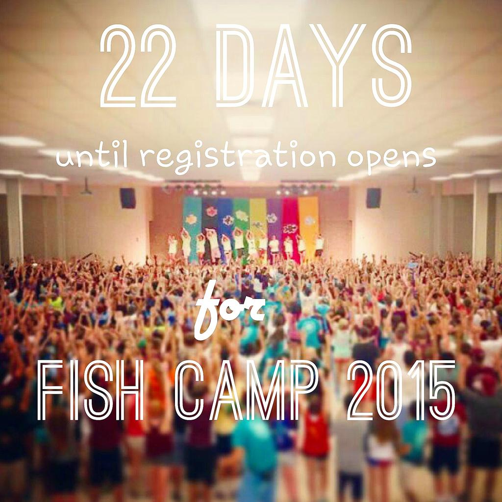 Hey #TAMU19 get excited because it's almost time to register!! Dont miss out on an Aggies first tradition! #FishCamp http://t.co/vdrD4fTAxA