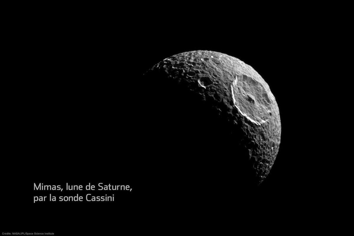On a retrouvé l'Étoile de la mort, orbitant autour de Saturne #MayThe4thBeWithYou http://t.co/Ys5ZsKsObS