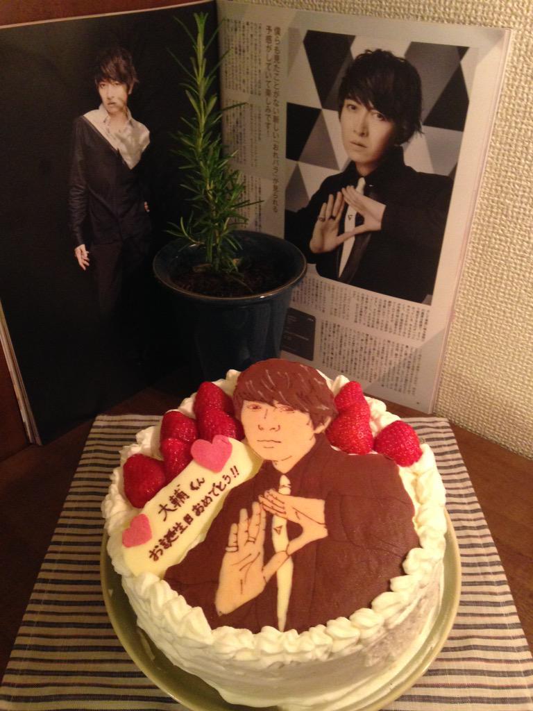 痛ケーキ一日かけて作りました #小野大輔生誕祭2015 http://t.co/7kOzsN8lE5
