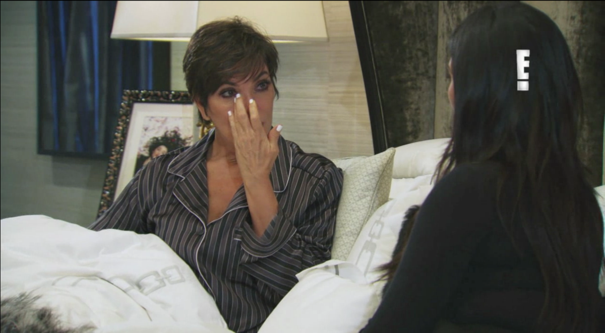 Kris Jenner cries to Kim about Bruce Jenner's transition in teaser video for KUWTK special