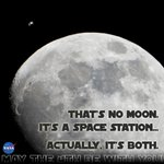 Thats no moon! Its @Space_Station! No, its both. #SpotTheStation: http://t.co/MGJIkympUx #MayThe4thBeWithYou http://t.co/lSzPS60PxY