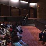 At historic DC Dunbar HS w/acclaimed poet/author Elizabeth Alexander & engaged students #theLightoftheWorld http://t.co/PMuFowfwWF