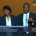 """CLIP: """"Im Ben Carson, and Im a candidate for President of the United States."""" https://t.co/m1NNGEvHEF http://t.co/JVLEwiKf53"""