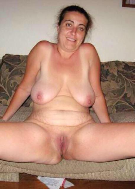brunette mature woman