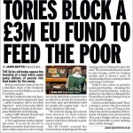 Mansion man Tom Conti not think about Ex Bullingdon Club boys that blocked fund to feed poor. #ge2015 #Election http://t.co/pOayMMxXUu