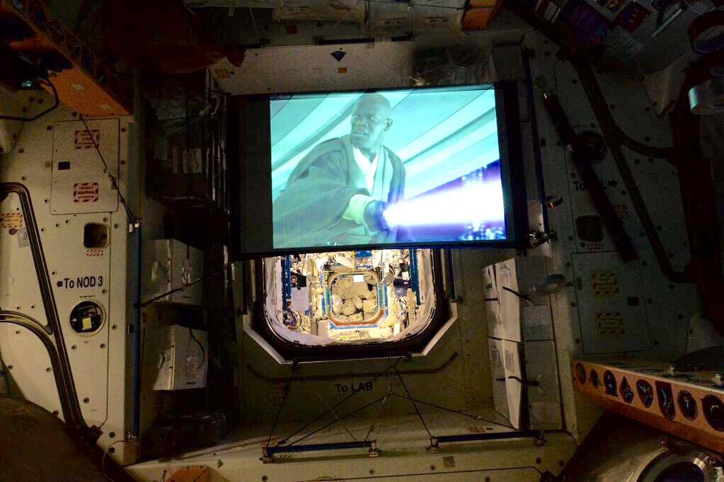 Just watching @starwars. In space. No big deal. #StarWarsDay #Maythe4thBeWithYou http://t.co/iG7Pn0Fvj6