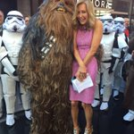 May the fourth be with you on @gma #starwars #chewie http://t.co/rzklBrQ97n