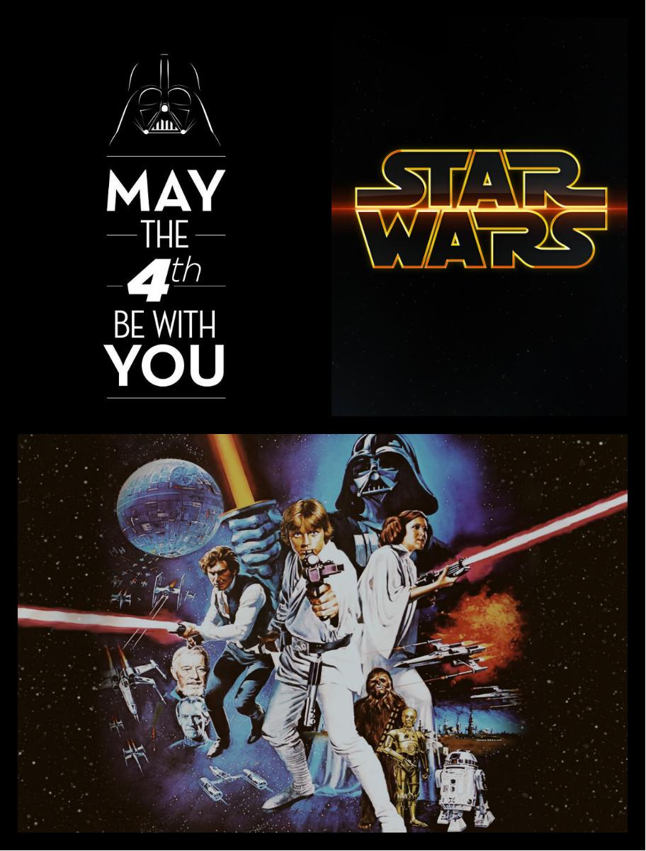 Aujourd'hui 4 mai, c'est #StarWarsDay ! #MayThe4thBeWithYou http://t.co/qKcAxwXIkg