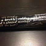 RT @cindy5988: Thank you @jparencibia9 for the amazing wedding gift!! http://t.co/JZIfdFOhqo