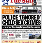 Police Ignored Child Sex Crimes: Here is the front page of The Star tomorrow in Sheffield, Doncaster & the bills: http://t.co/Bb1W76w0o8
