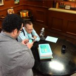 What's a celebration without cake? BTS of #LKN500 with @joshgad & a delicious cake. BLOG: http://t.co/jlv1We80ZB