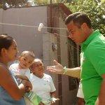 Candidato del @PRI_Campeche -@PVEMCAMPECHE, del IV distrito, @ChrisCastroB recorre calles de Colonia Jardines. http://t.co/QiogNNMmiu