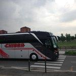 """@CarolinaPadron: Acaba de llegar el bus del @realmadrid a Juventus Stadium #ChampionsxESPN http://t.co/Ov9taZiExt"" ???? PD: te amo ????????"