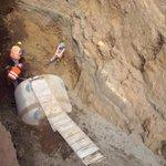 Va para largo la instalación de tubería de drenaje en el sector de Las Piedrecitas @laprensa http://t.co/ZNS9VvOjDX