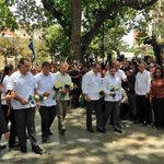 """Hoy se cumplió el sueño del ComandanteChávez,están en la Patria de Bolívar los 5HéroesCubanos¡Bienvenidos Hermanos! http://t.co/GbpGAPoriZ"""""""