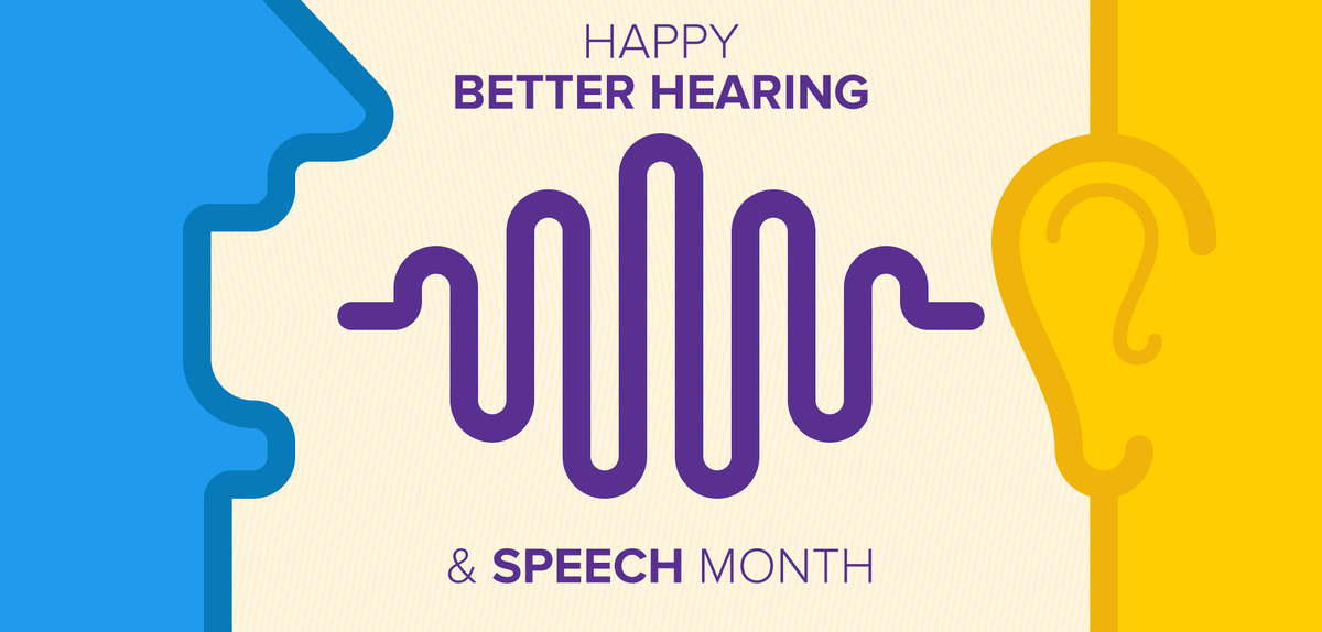 Happy Better Hearing and Speech Month! Here's how you can spread #BHSM awareness: http://t.co/Yiksy7bhz4 #slpeeps http://t.co/ywxqR5Mrxp