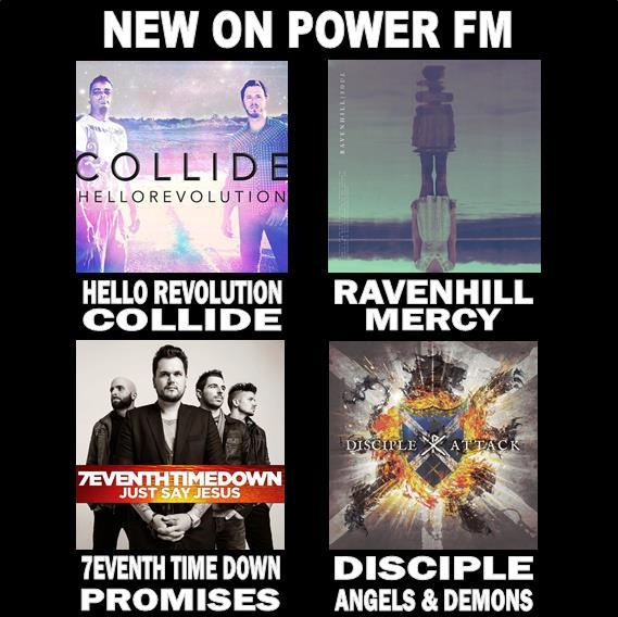New tunes from @disciplerocks @7eventhtimedown @Ravenhillmusic & @HelloRevo this week! Have you heard them yet? http://t.co/vtNAgNQmmu
