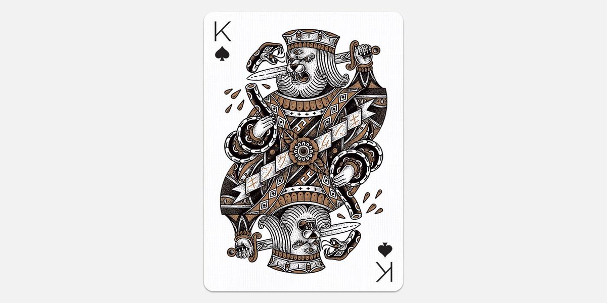 King of Spades by Yeaaah! Studio (France)  http://t.co/fJzvLuGwO0  #playingarts2 http://t.co/5tHlEmZbK4