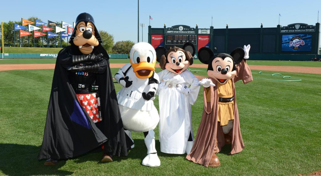 Happy #StarWarsDay from #ESPNWWOS! May the fourth be with you. http://t.co/6cGT1oBh8F