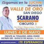 #Hoy a las 6:30pm los espero en Valle de Oro #SanDiego para la Asamblea de Ciudadanos #UnidosLoLograremos http://t.co/YgptISsL4y