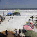 El oleaje se come las costas del Pacífico http://t.co/jeCmNsAF86 Desde México a Chile http://t.co/XtpSfFtetI