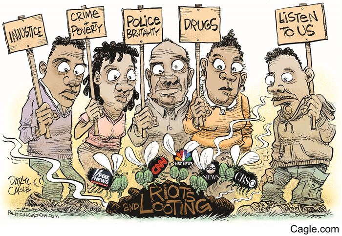 My new #Baltimore #media #cartoon!   http://t.co/2VE1x1Ga7S #BaltimoreUprising #BaltimoreRiots  #FreddieGray http://t.co/b1H7fnx4ni