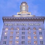 Happy 163rd Birthday #Oakland! Celebrate by taking a guided tour of the City this spring: http://t.co/8kTelb2pLy http://t.co/bJZ2NiOQnP