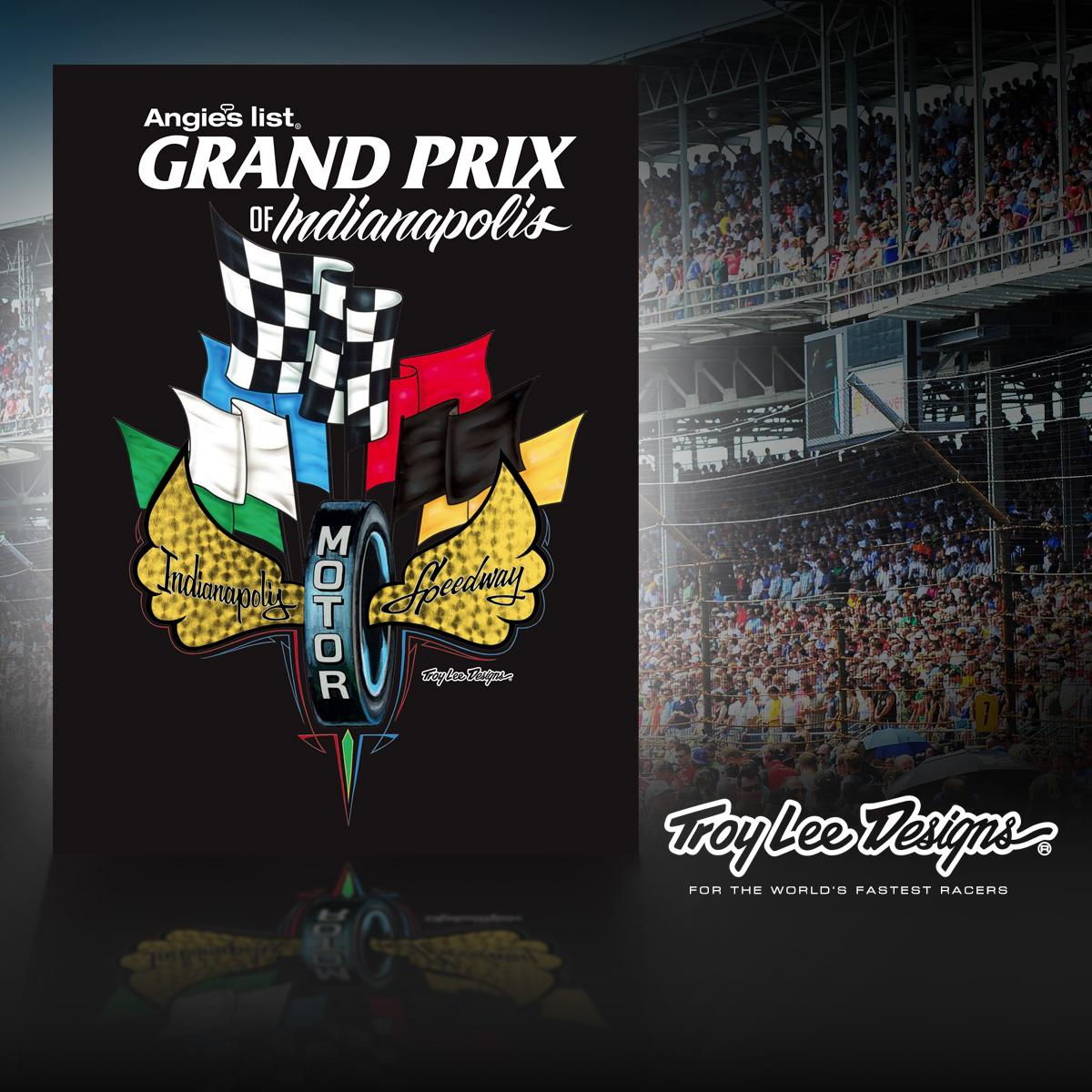 Pumped to have designed some cool program cover art for the #GPofIndy this weekend! Thanks @IMS for the project! http://t.co/67OIKz8H4P
