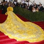 Rihanna wearing Guo Pei. http://t.co/60YDBS1DTa #MetGala2015 http://t.co/43VP3zSY0s